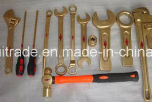 4p Non Sparking Tools Copper Hammer Brass Hammer for Export pictures & photos