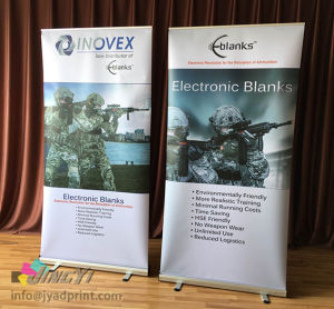 High-quality 100X200CM roll up Banner Stand with full color printing pictures & photos