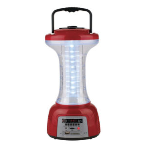 Automatic Rechargeable Camping Lighting with Radio pictures & photos