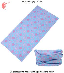 Printing Bandana Multifunctional Headwear for Promotion Gifts 50*25cm (YH-HS028) pictures & photos
