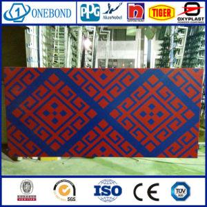 Bicolor Aluminum curtain Wall Panel pictures & photos