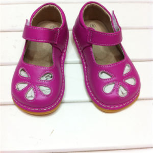 2016 Baby Shoes Children Shoes for Girl Wholesale Squeaky Shoes