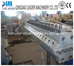 Plastic PVC+PMMA Corrugated Roofing Sheet Glazed Roofing Tiles Machine Extrusion Line pictures & photos