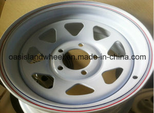 4X4 Steel Wheel (16X7) for Trailer pictures & photos