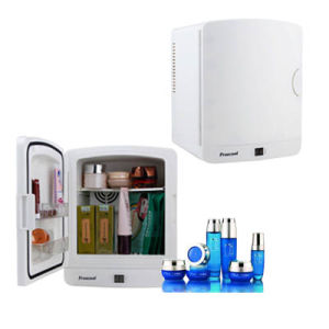 Mini Fridge 5 Liter AC100-240V for Specifically Storing Cosmetic pictures & photos