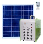 High Brightness LED Indoor Solar Panel Light Kit with Phone Charger pictures & photos