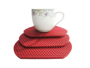 BPA Free Heat Resistant Anti Slip Silicone Table Dining Placemat pictures & photos