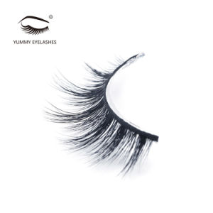 Women Beautiful Fake Eyelash Glue 3D Mink Eyelashes pictures & photos