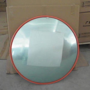 Indoor and Outdoor Unbreakable Orange Traffic Acrylic Convex Mirror pictures & photos