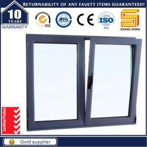 2016 Double Glazing Aluminium /Aluminum Tilt and Turn Sliding Windows pictures & photos