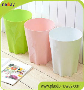 10L Cylinder Plastic Household Trash Can pictures & photos