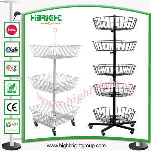 Four Sides Rotating Spinner Display Stand for Retailing pictures & photos