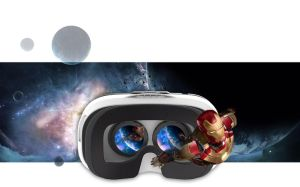 Virtual Reality Box Vr Headset 3D Glasses with Remote Control for Android/Ios iPhone/Samsung