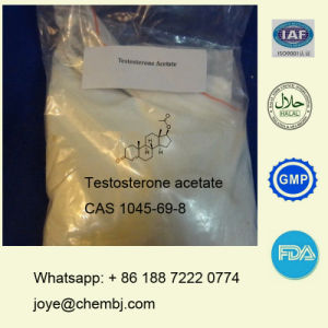 99% Purity Test Acetate/Testosterone Acetate Anabolic Steroid Raw Powder pictures & photos