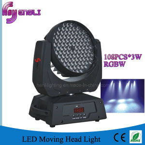 108PCS LED Moving Head Wash Light of Stage Lighting (HL-006YS)