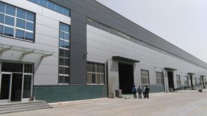 Steel Structure Building with Glass Wall as Factory Workshop pictures & photos