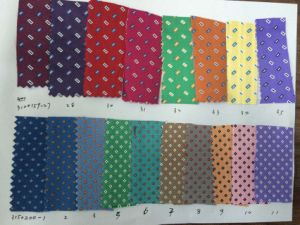 Latest Check Rectangle Design Micro Fibre Fabric pictures & photos