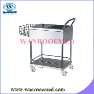 Bss204 Stainless Steel Diaper Trolley pictures & photos