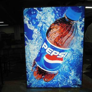 The New Pepsi Ads LED Light Box pictures & photos