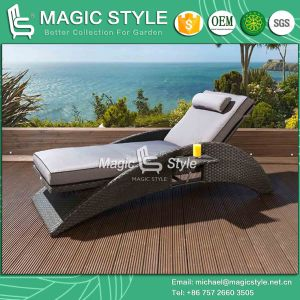 Rattan Sunlounger Wicker Sunlounger Outdoor Furniture Garden Furniture Patio Furniture Hotel Project Pool Daybed Modern Sun Bed Deck Daybed (Magic Style) pictures & photos