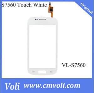 LCD Touch Screen Digitizer for Samsung Gt-S7560m White pictures & photos