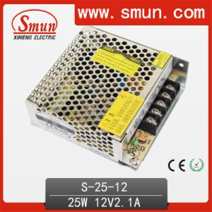 S-25-12 25W 12V 2.1A Single Output Type Power Supply pictures & photos