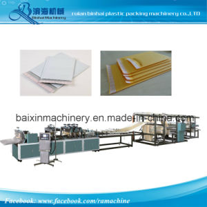 Automatic Kraft Paper Bubble Film Envelope Making Machine pictures & photos