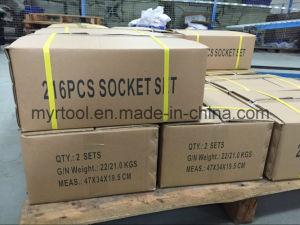 "215PCS Professional 1/4""&3/8""&1/2"" Socket Set (FY215B) pictures & photos"