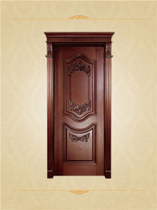 American Style Solid Wooden Interior Doors pictures & photos