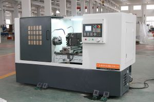 CNC Metal Cutting Lathe Machine