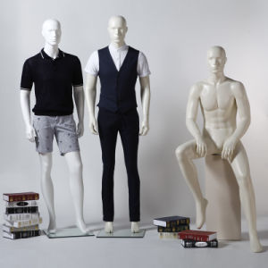 Semiabstract Fiberglass Male Mannequin for Window Display pictures & photos
