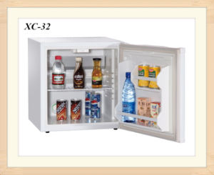 White Foamed Door Hotel Fridge Cabinet Electric Icebox Cooler pictures & photos