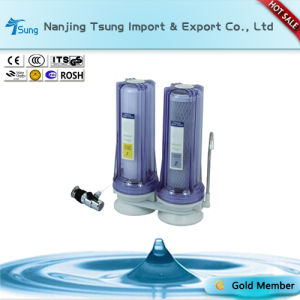 Counter Top Two Stage Water Purifier with Metal Connector Ty-CT-C5 pictures & photos