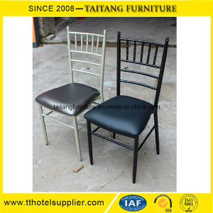 Aluminum Stackable Chiavari Chair for Wedding and Hotel pictures & photos