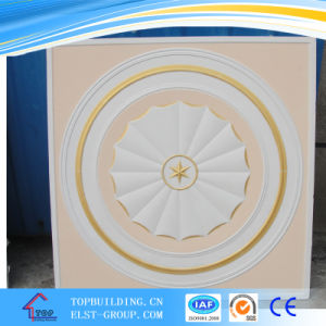 Calorful Gypsum Ceiling Tile/Beautiful Pattern Design Gyspum Ceiling Panel pictures & photos