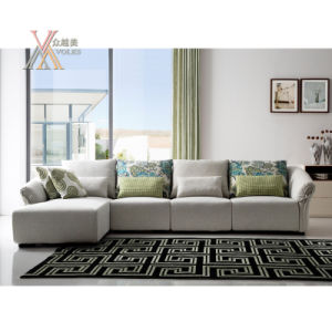 Modern Fashion Fabric Sofa Set (1601)