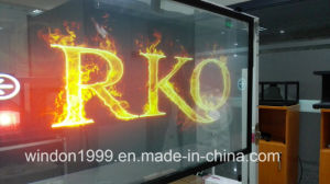 Transparent Rear Holographic Projetcion Foil / Hologram Window Display pictures & photos