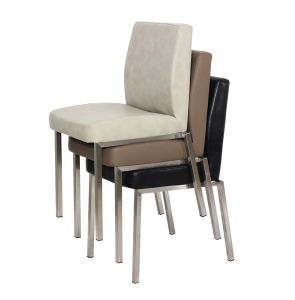 Stainless Steel Mould Foam Dining Chair pictures & photos