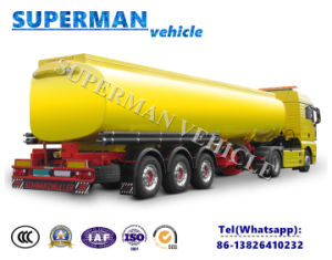 Carbon Steel 40000L Liquid Oil Tanker/ Fuel Tanker pictures & photos