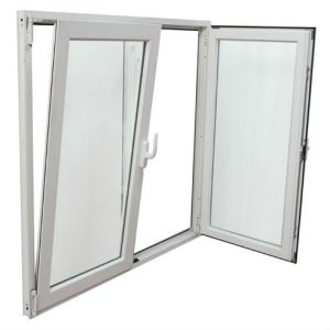 UPVC PVC Tilt and Turn Weather-Resistant Window pictures & photos