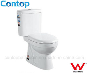 Sanitary Ware Ceramic Washdown Two Piece Toilet pictures & photos