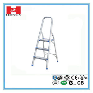 Various Steps Steel Ladder with Working Bench pictures & photos