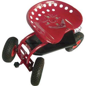 Rolling Garden Scooter, Rolling Garden Seat, Garden Seat Cart pictures & photos