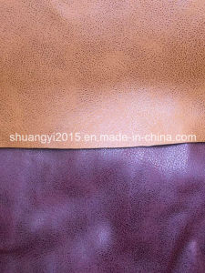 High Quality Synthetic PU Leather for Shoes, Bags, Belt pictures & photos