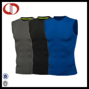 Custom Gym Stringer Compression Sports Fitness Vest for Man pictures & photos
