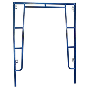Blue Painted Walkthrough Scaffolding Frame with C Lock pictures & photos