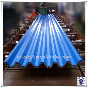 Construction Material Prime Prepainted Galvanized Corrugated Steel Sheet for Roofing pictures & photos