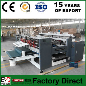 Zx-1200 Corrugated Paper Folding & Gluing Machine Apple Box Making Machine pictures & photos
