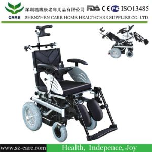 Aluminum Electric Wheelchair for Rehabilitation Therapy pictures & photos