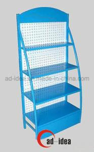 Free Standing Metal Lubricating Oil Display Rack pictures & photos